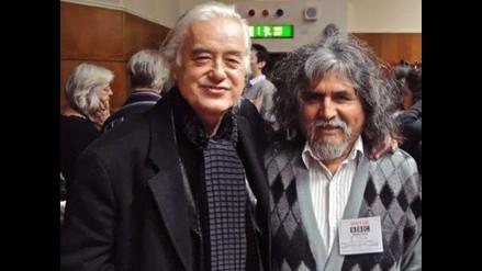 Manuelcha Prado en aniversario de World Routes en Londres