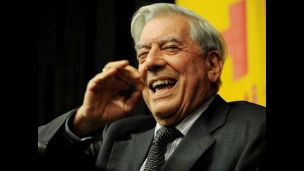Vargas Llosa: Sería muy divertido no llegar a Estocolmo por la huelga