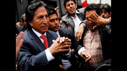 Toledo presentó su candidatura presidencial a peruanos en EEUU