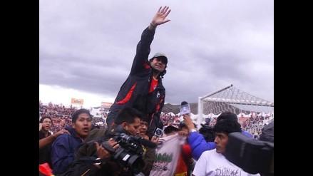 Sergio Ibarra agradece a sus jugadores por el esfuerzo brindado