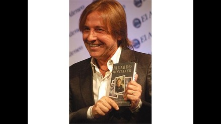 Ricardo Montaner llega con su libro