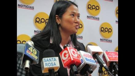 Keiko Fujimori sobre Rey y Yoshiyama: Tienen trayectorias intachables