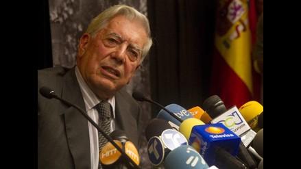 Mario Vargas Llosa se conmovió al escuchar un mensaje de niños suecos