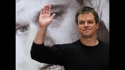 Matt Damon satisfecho con True Grit pese a no estar en Globos de Oro