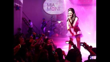 Mia Mont presentó a lo grande su primer disco Antifantasía
