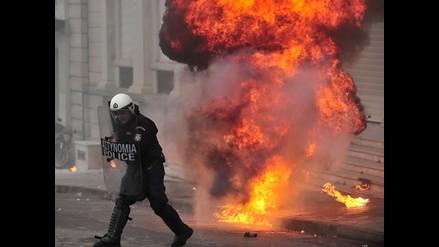 Grecia vuelve a paralizarse con la octava huelga general del año