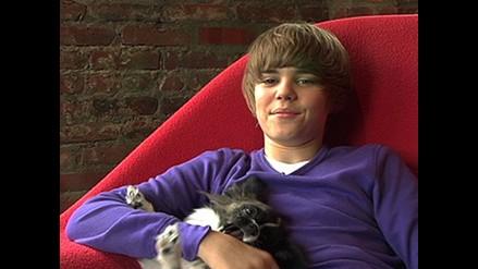 Vea a Justin Bieber fomentando la adopción de perros abandonados