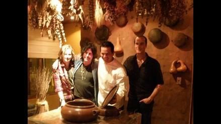 Los Stone  Temple  Pilots  disfrutaron cocina peruana a más no poder