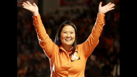 Keiko: ´ Estoy orgullosa de ser la hija del mejor presidente del Perú´