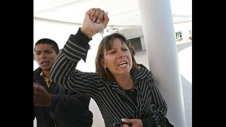 Protesta en Ciudad Juárez por el asesinato de Marisela Escobedo