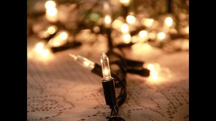 Consejos para el adecuado uso de las luces navideñas