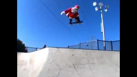 Un Papá Noel fuera de lo común