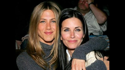 Courteney Cox pasó la Nochebuena con Jennifer Aniston