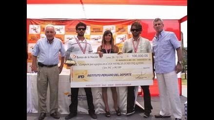 IPD repartió 160 mil soles a los deportistas más destacados del 2010