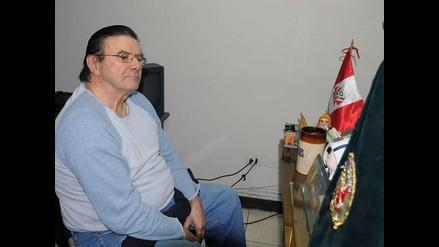 Crousillat interno en el penal de máxima seguridad Miguel Castro Castro