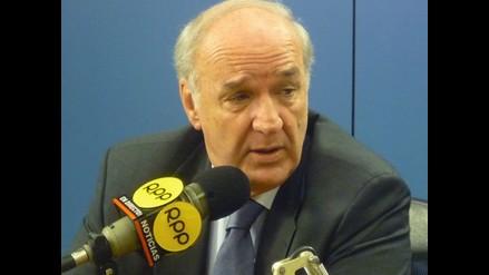 Canciller: Diferendo marítimo podría ser tratado por Piñera y García