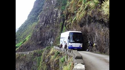 Ruta del asalto al bus interprovincial Flores Hermanos