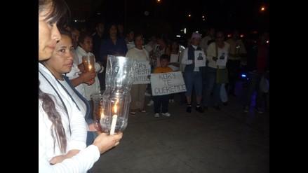Realizan vigilia por arqueóloga desaparecida en Trujillo