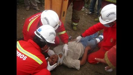 Un muerto y tres heridos graves tras accidente en Mala