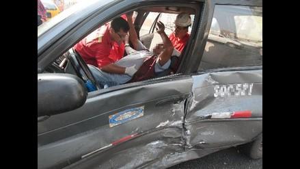 Arequipa: Un muerto y dos heridos deja triple choque en Mollendo