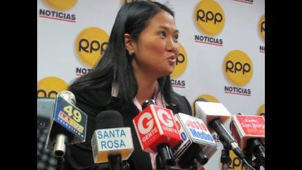 Keiko Fujimori: ´La seguridad ciudadana se ha descuidado muchísimo´