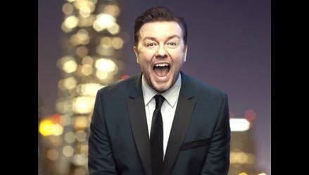 Ricky Gervais no se arrepiente de bromas que hizo en los Globos Oro