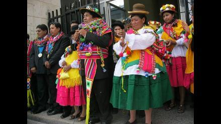 Juliaca: Continúa tradicional fiesta de la ´Q´ahswa´ de San Sebastián