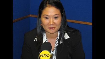 Keiko Fujimori pide a candidatos informar sobre sus ingresos