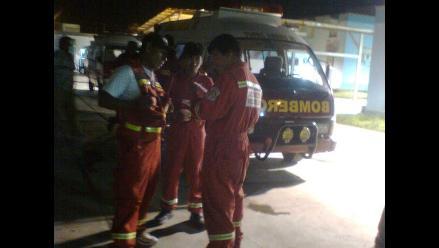 Ica: Heridos de incendio de hotel en Paracas fueron trasladados a Lima