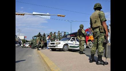 Ocho supuestos sicarios mueren en choque con Ejército en norte de México