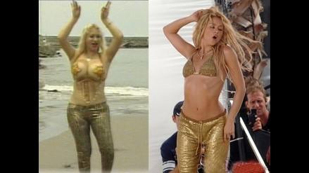 Susy Díaz agita las caderas al estilo de Shakira