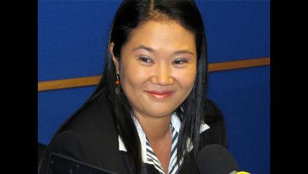 Keiko Fujimori plantea modernización de los colegios a nivel nacional