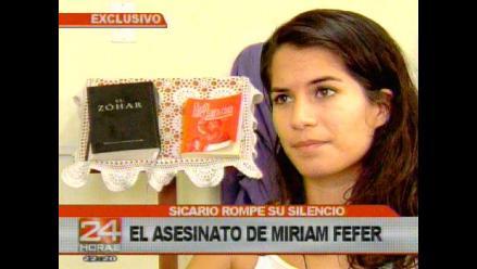 Eva Bracamonte responde a acusasiones del sicario Luis Trujillo