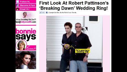 Robert Pattinson está oficialmente comprometido