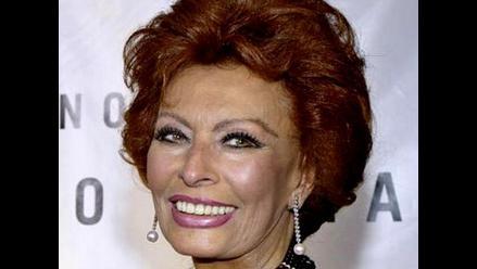 Publican biografía de la legendaria Sophia Loren