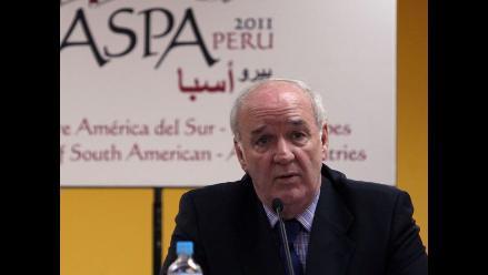 Perú espera información oficial sobre postergación de Cumbre ASPA