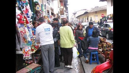 Identifican a dos responsables de comercio informal en Cercado de Lima