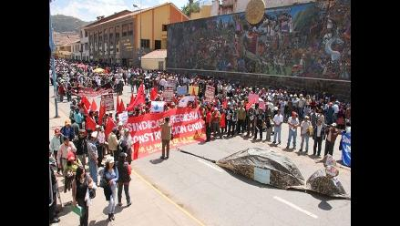 Cusco: Organizan paro indefinido contra proyecto Majes-Siguas II