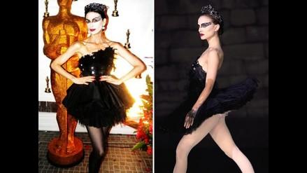 Fiorella Rodríguez raya en Facebook vestida cual Natalie Portman