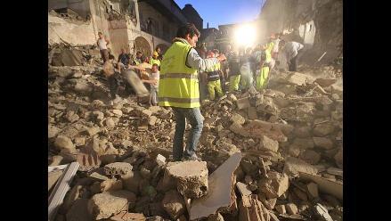Ancash: Dos mineros mueren sepultados por el deslizamiento de un cerro