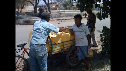 Piura: Alcaldes piden apoyo para solucionar escasez de agua en Talara