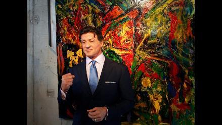 Sylvester Stallone expone en Sant Moritz retrospectiva como pintor