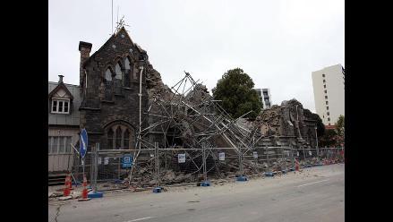 Terremoto deja al menos 65 muertos en Nueva Zelanda
