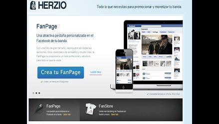 Herzio, una nueva plataforma dentro de Facebook para músicos