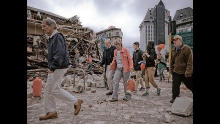 Nueva Zelanda: 75 muertos y 300 desaparecidos tras terremoto