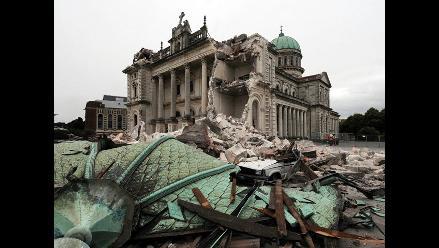 Aumentan a 113 los muertos por terremoto en Nueva Zelanda