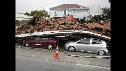 Sigue búsqueda de peruana tras terremoto en Nueva Zelanda