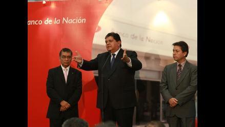 Presidente García descarta que reducción de IGV afecte caja fiscal