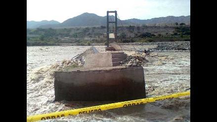 Junín: Río Molinos arrasa con puente Coypa en Jauja