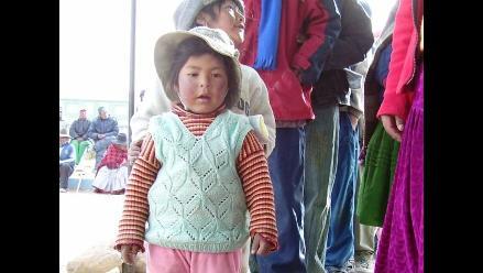 Seis niños mueren por neumonía en Puno